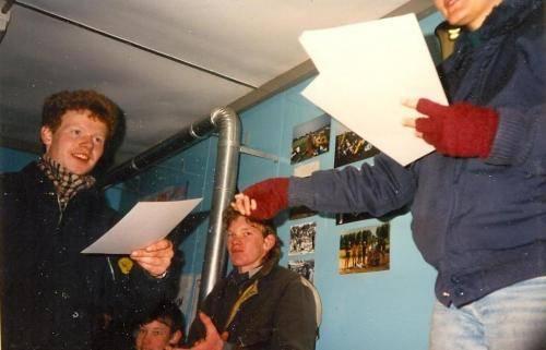 De andere Erik krijgt aandenken fun fly 1988