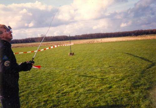 Erik in extase fun fly 27-3-1988